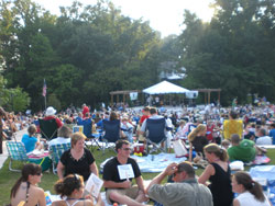 The Sandy Springs Society Entertainment Lawn is a perfect venue for the annual
