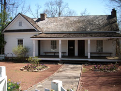 The Society funded a permanent exhibit on Sandy Springs history in the Heritage Sandy Springs Museum at the Williams-Payne House.