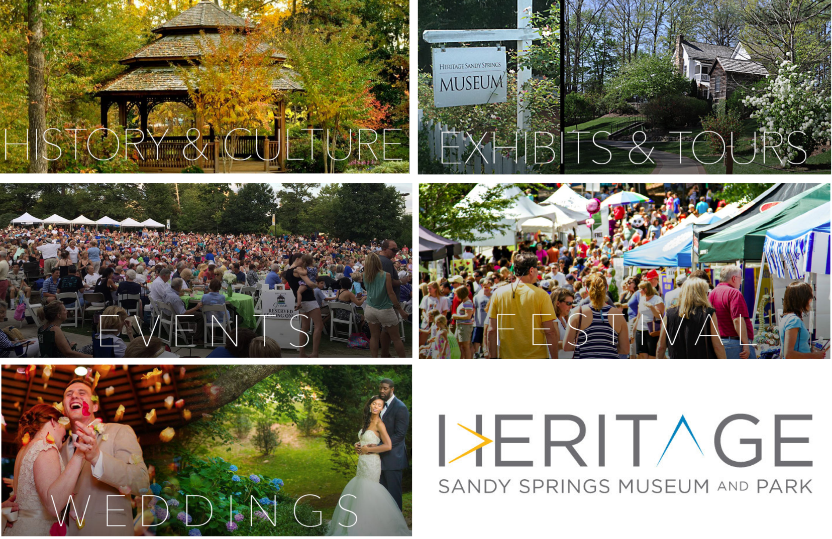 00 Heritage Sandy Springs Museum and Park Collage